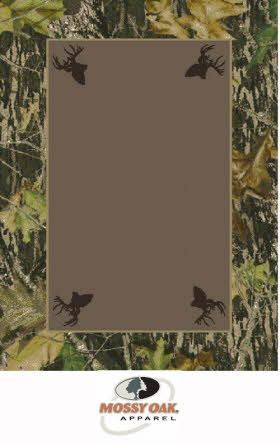 Milliken Mossy Oak Tm Camo Rugs