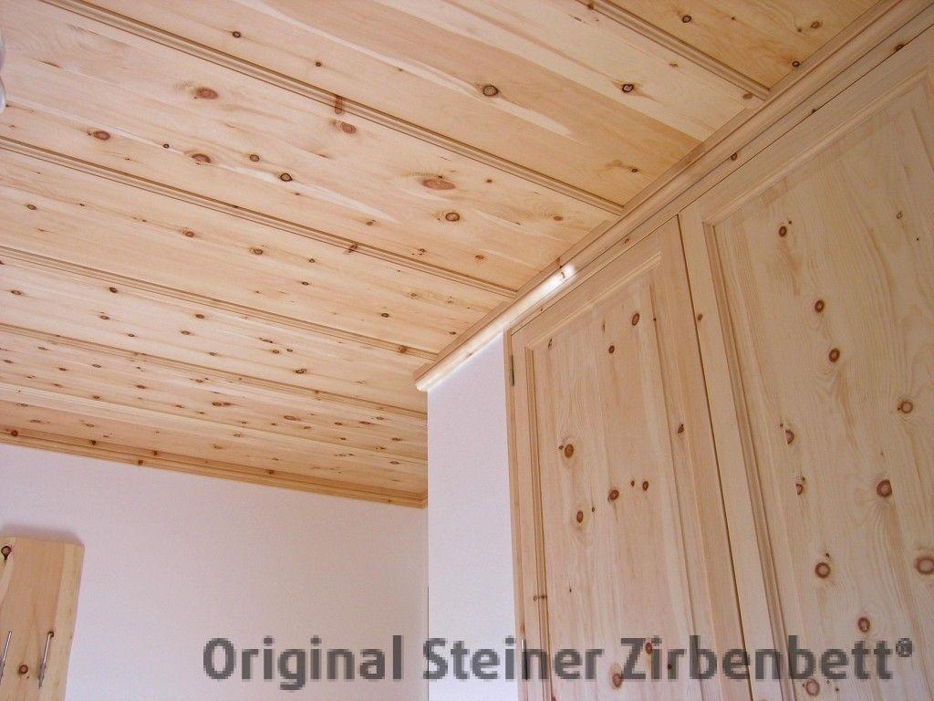 zirbenholz-zimmerdecke original steiner zirbenholz manufaktur, Schlafzimmer entwurf