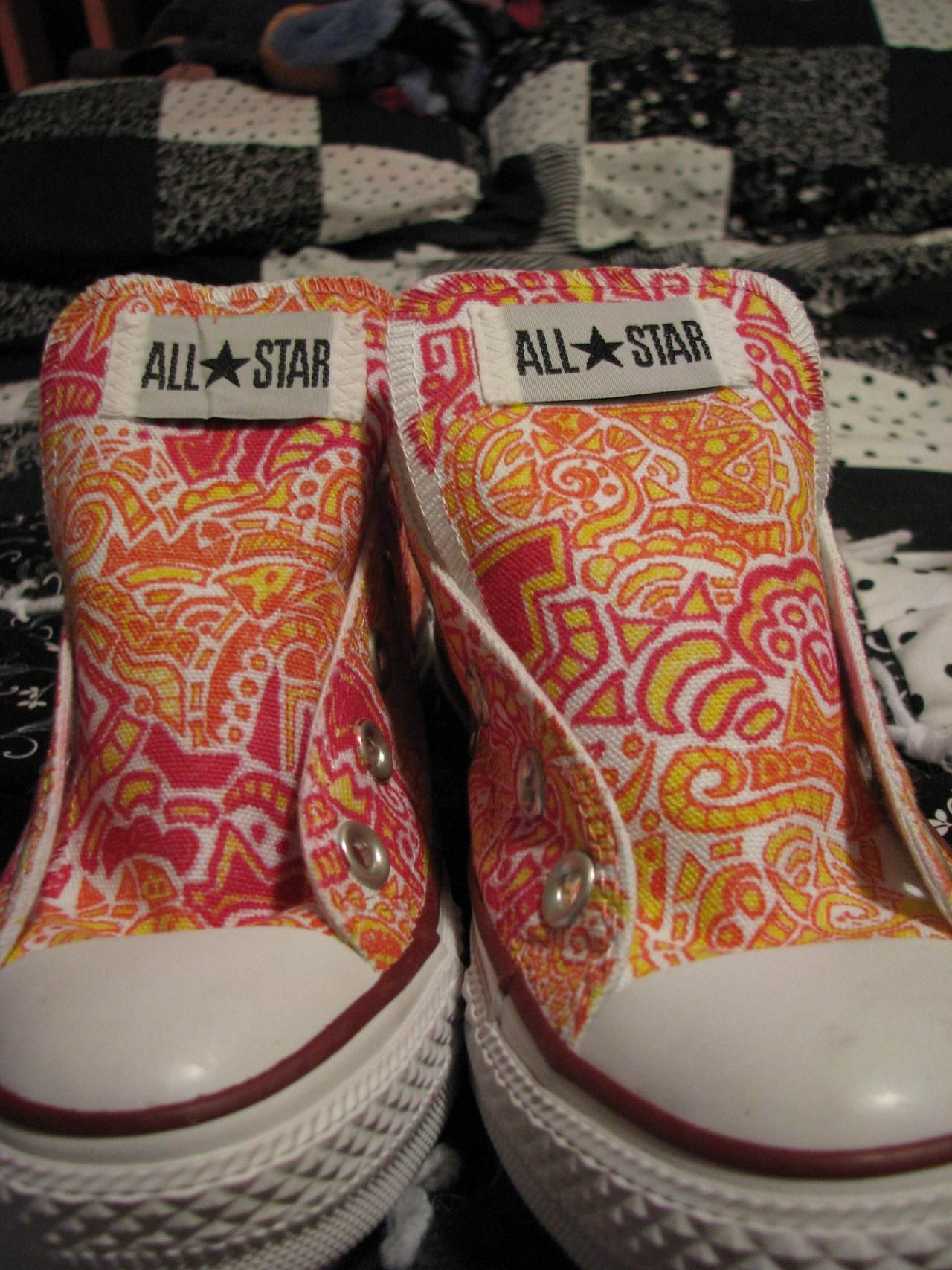 Craft ideas with sharpies - I Love Sharpies These Are The Coolest Hightops You Re Only Bound By