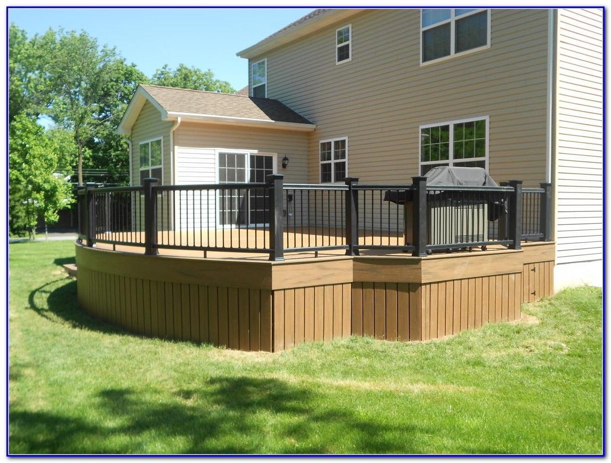 26 most stunning deck skirting ideas to try at home | deck skirting