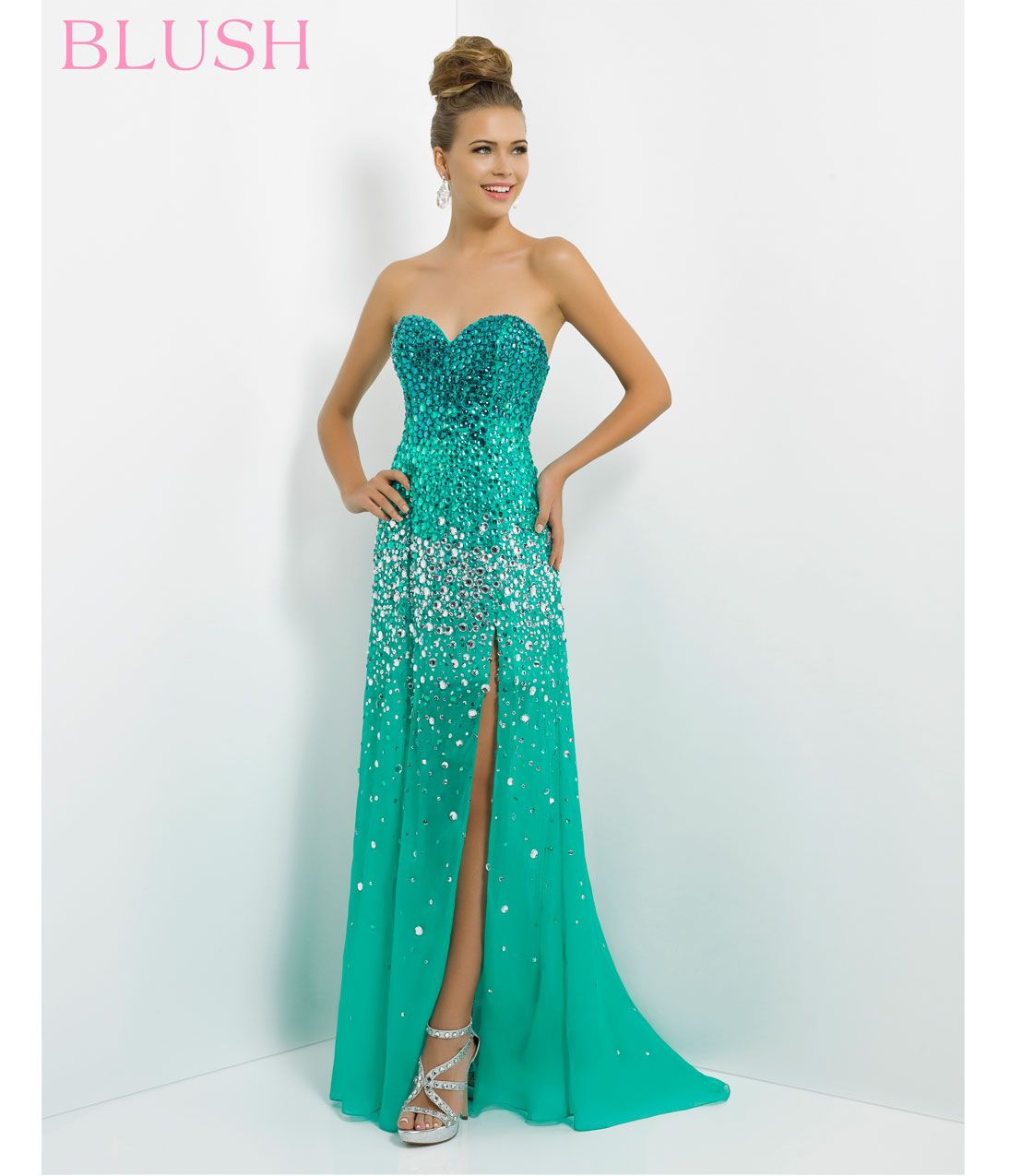 1000  images about Awesome dresses on Pinterest  Turquoise Jade ...