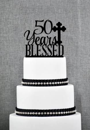 anniversary cake toppers 50 - Google Search