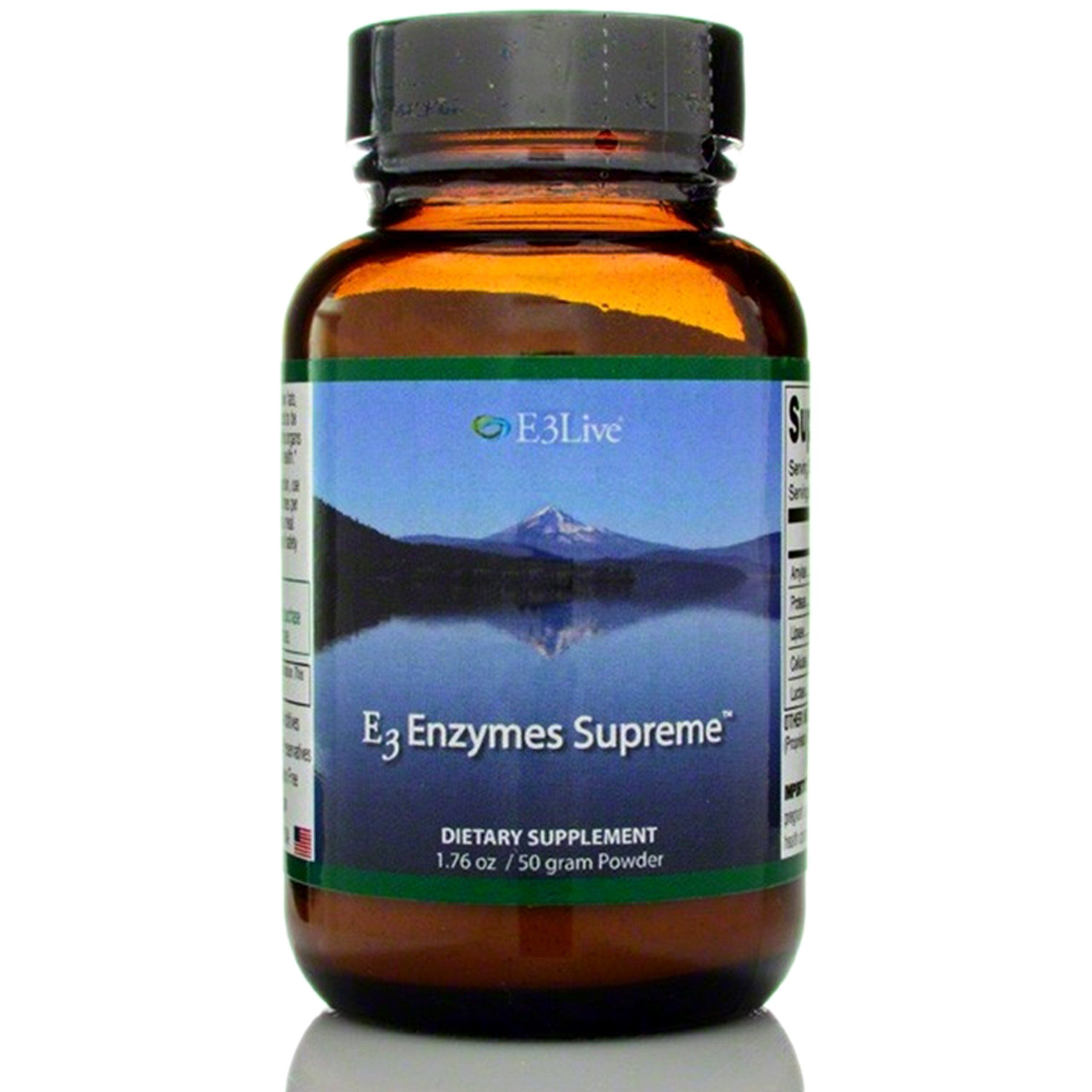 E3 Enzyme Supreme Formula 50g Powder Supports Digestion Cleansing 3 In 1 Formula Digestion Aid Enzymes Digestion