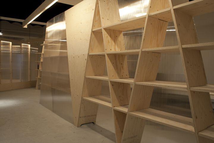 Interiorismo oficinas crampton shelf life shelves and for Interiorismo oficinas