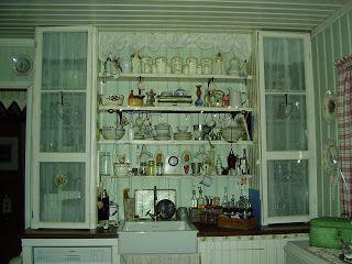 Hjertetunet: Kjøkkenet etter oppussing..