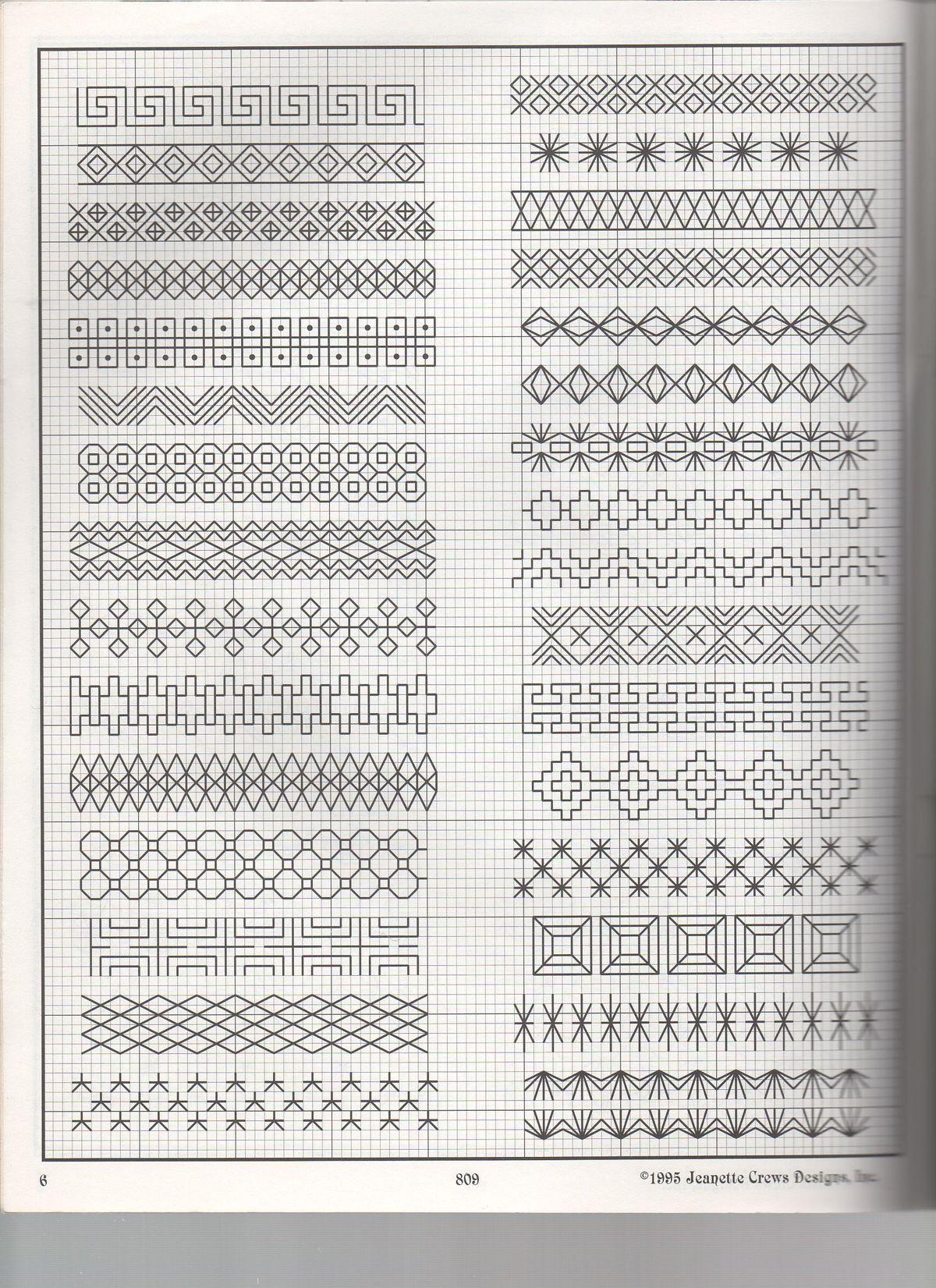 Blackwork Patterns New Design Ideas