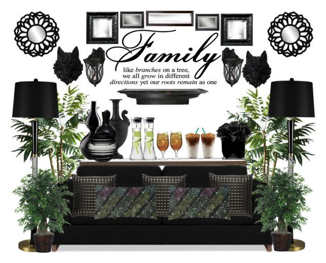 """""""Drinks for my Company"""" by bcurryrice on Polyvore featuring TradeMark, Wedgwood, Mitchell Gold + Bob Williams, Williams-Sonoma, Universal Lighting and Decor, Cyan Design, Savoy House, Nude, Hervé Gambs and Uttermost"""