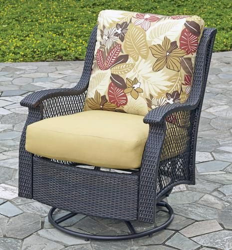 Backyard Creations San Paulo Swivel Glider at Menards