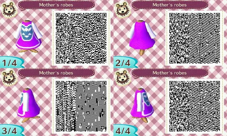 Toriel From Undertale Qr Code For Animal Crossing New Leaf Qr