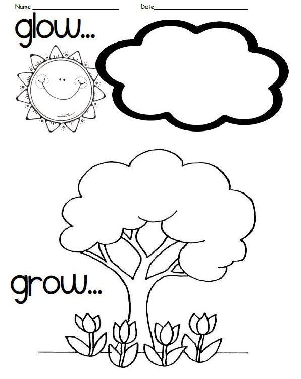 GlowGrow  Growth Mindset    Kindergarten School