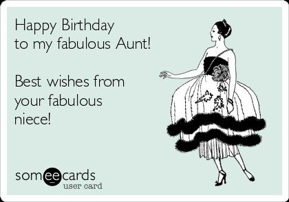 Somee Birthday Aunt Things I Love Birthday Wishes Funny Happy