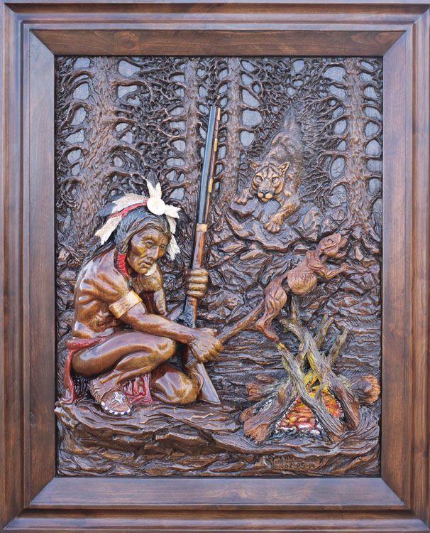 Custom wood carving relief carvings …