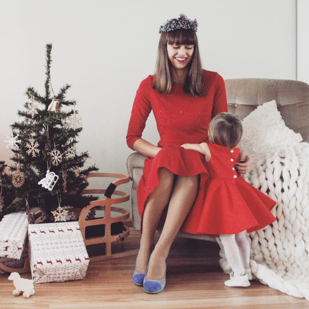 Baby girl 1st Christmas dress, baby holiday dress by PataTaTa ...
