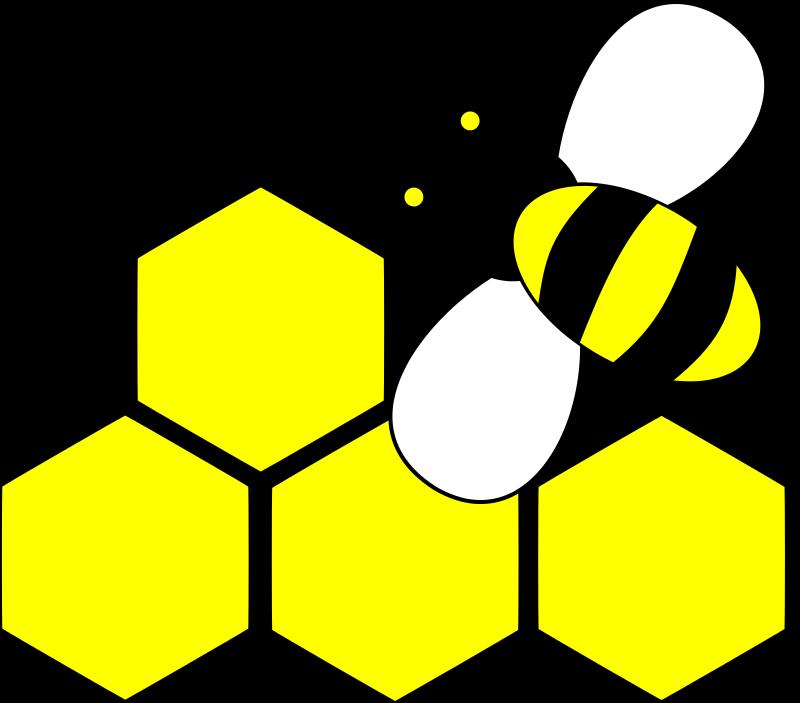 free bee svg file