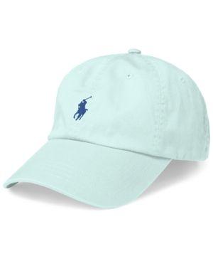 50217316af574 Polo Ralph Lauren Men s Classic Cotton Chino Sports Cap - Offshore Grey