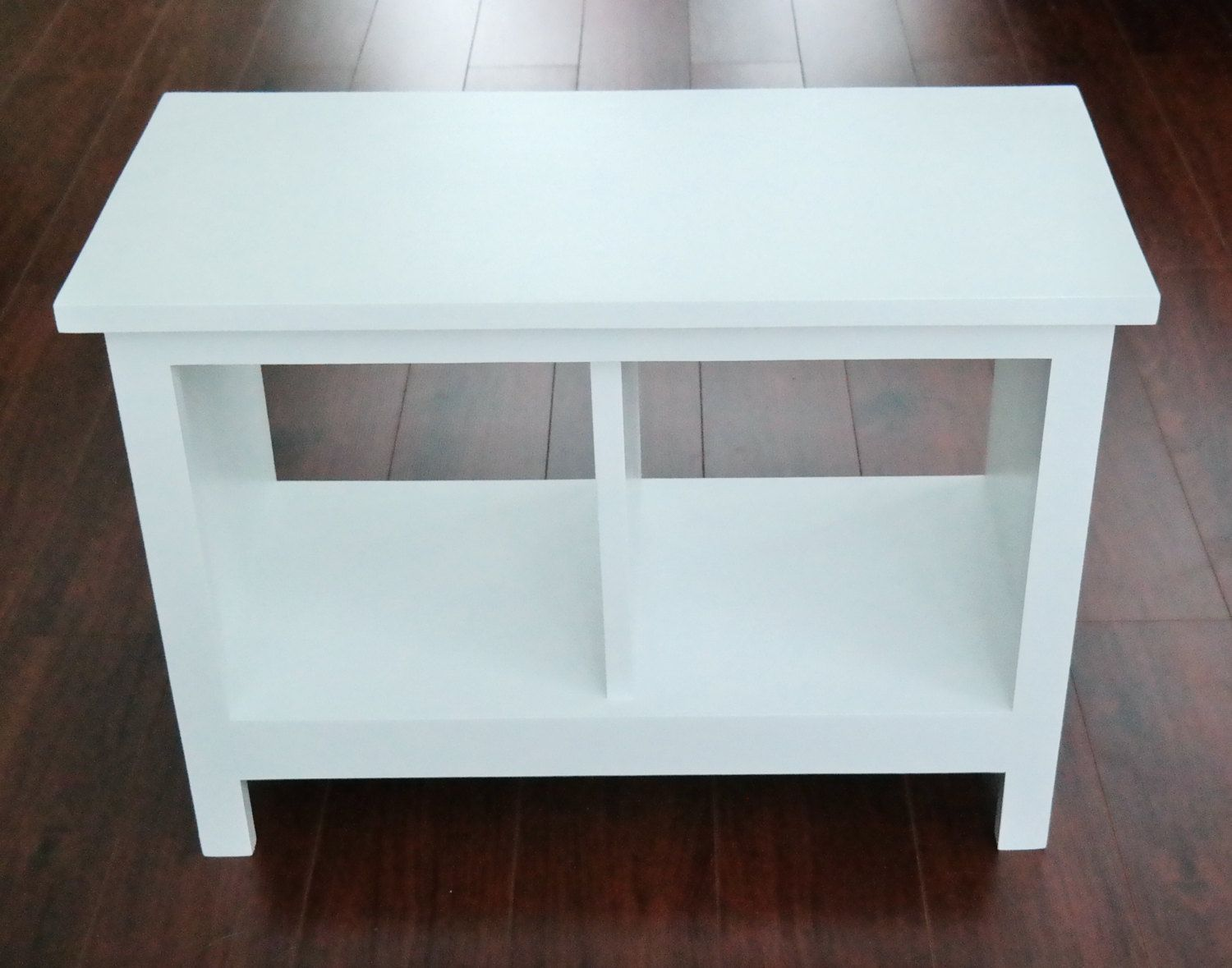 24 inch Painted Entryway Bench -Custom Furniture-Shoe Cubby -Cubby