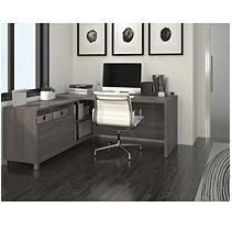Bestar Pro-Linea OfficePro 120000 L-Shaped Desk,