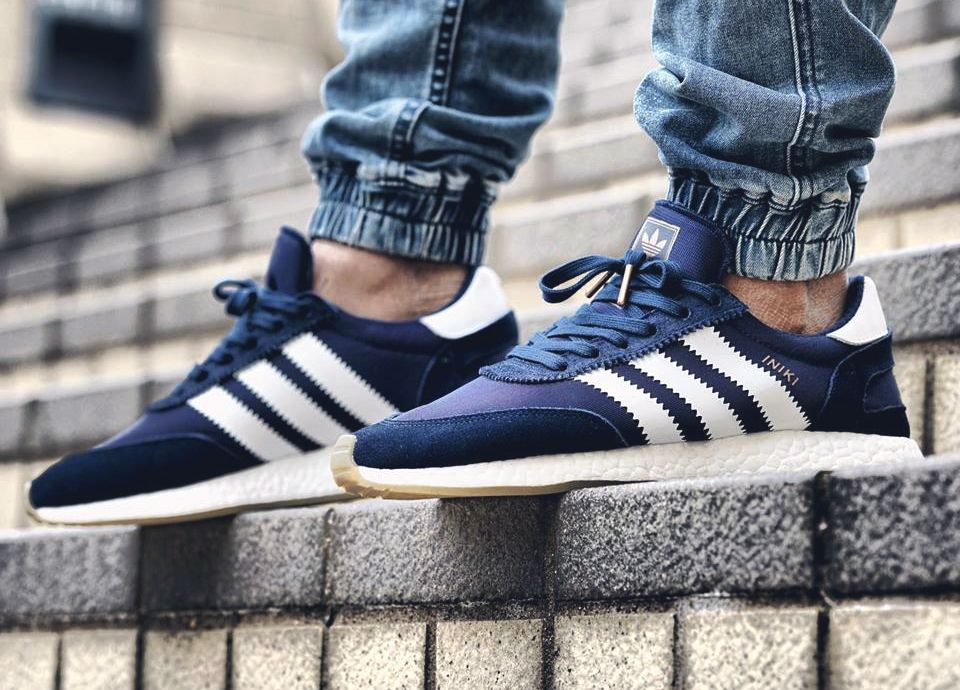 purchase cheap da983 5557e Adidas Iniki Runner Boost - Collegiate Navy - 2017 (by wai cheung8217)