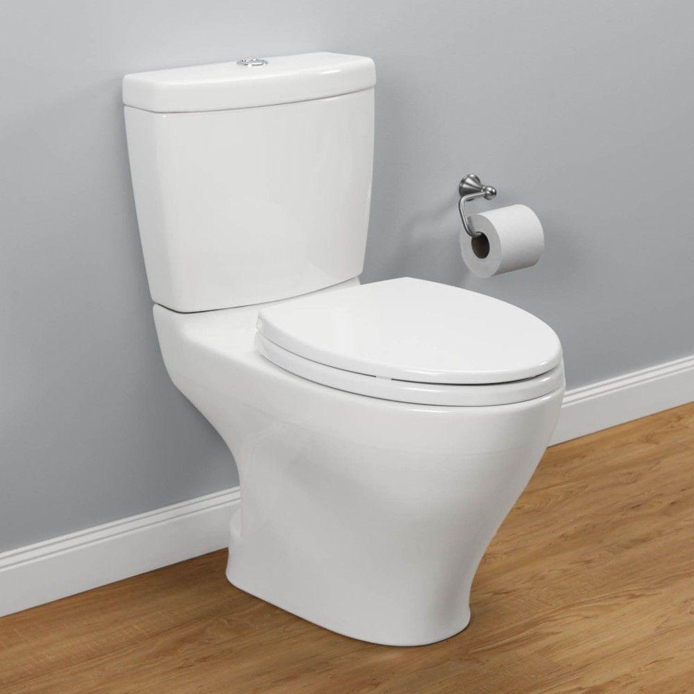 Aquia Elongated Two-Piece Dual Flush Toilet | Pinterest | Flush ...