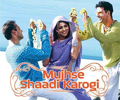 Mujhse Shaadi Karogi New Hindi Movie Bollywood Movies Indian Movies
