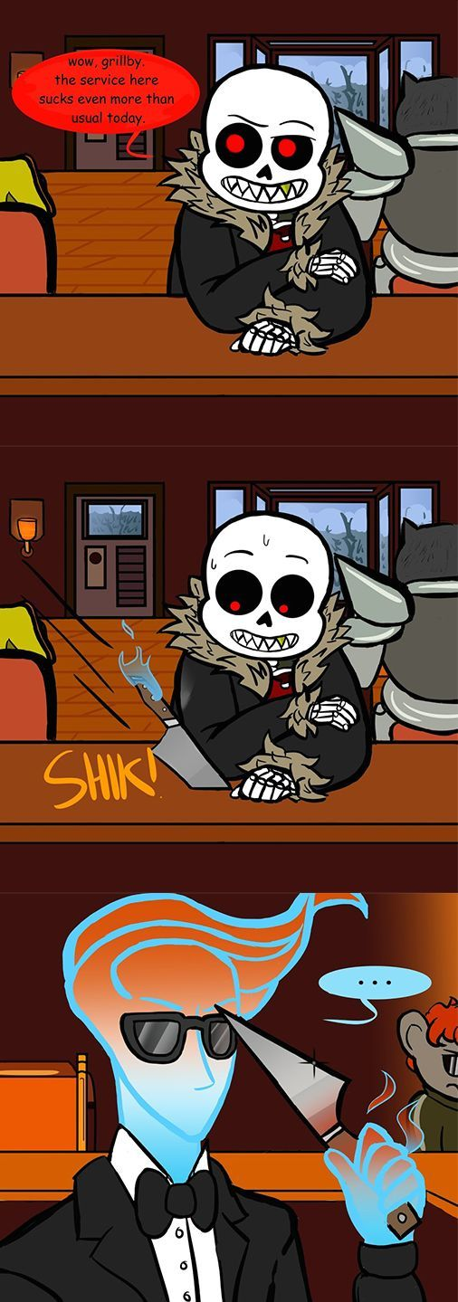 Sickly Sans (Underfell version Pt1) by YaoiLover113 on