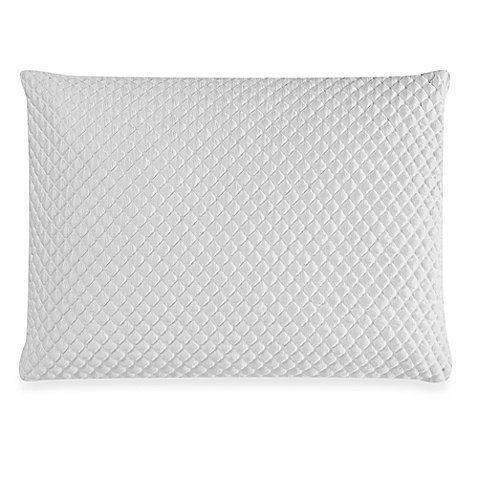 Therapedic Trucool King Memory Foam Back Stomach Sleeper Pillow