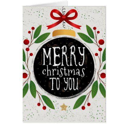 Merry Christmas to You\