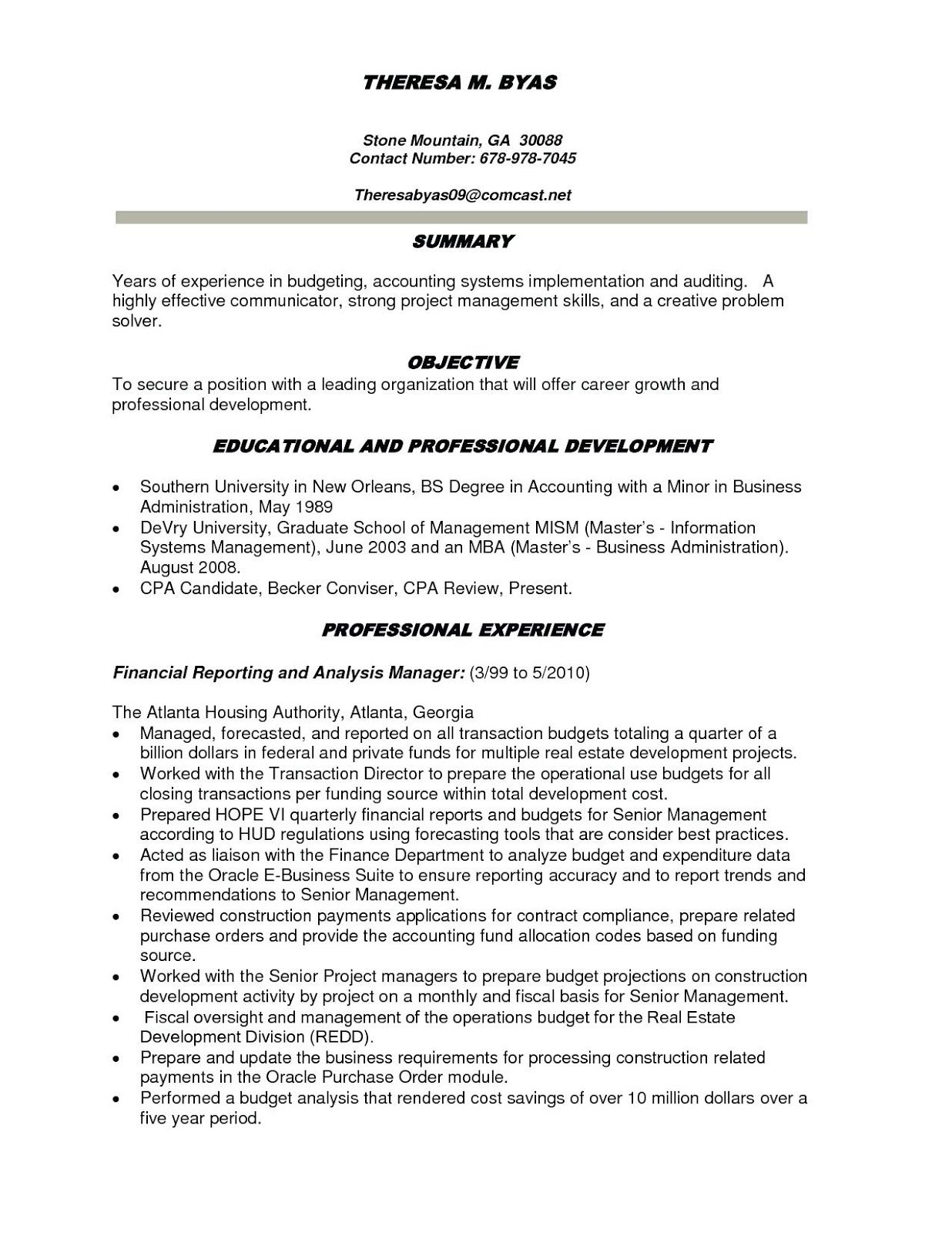 Best Resumes 2020.Best Accounting Resumes 2019 Best Resume Accounting