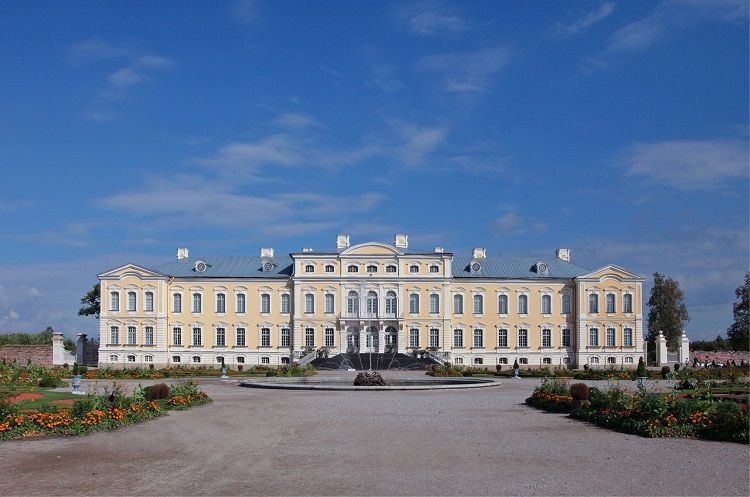 Rundale Palace - Exterior