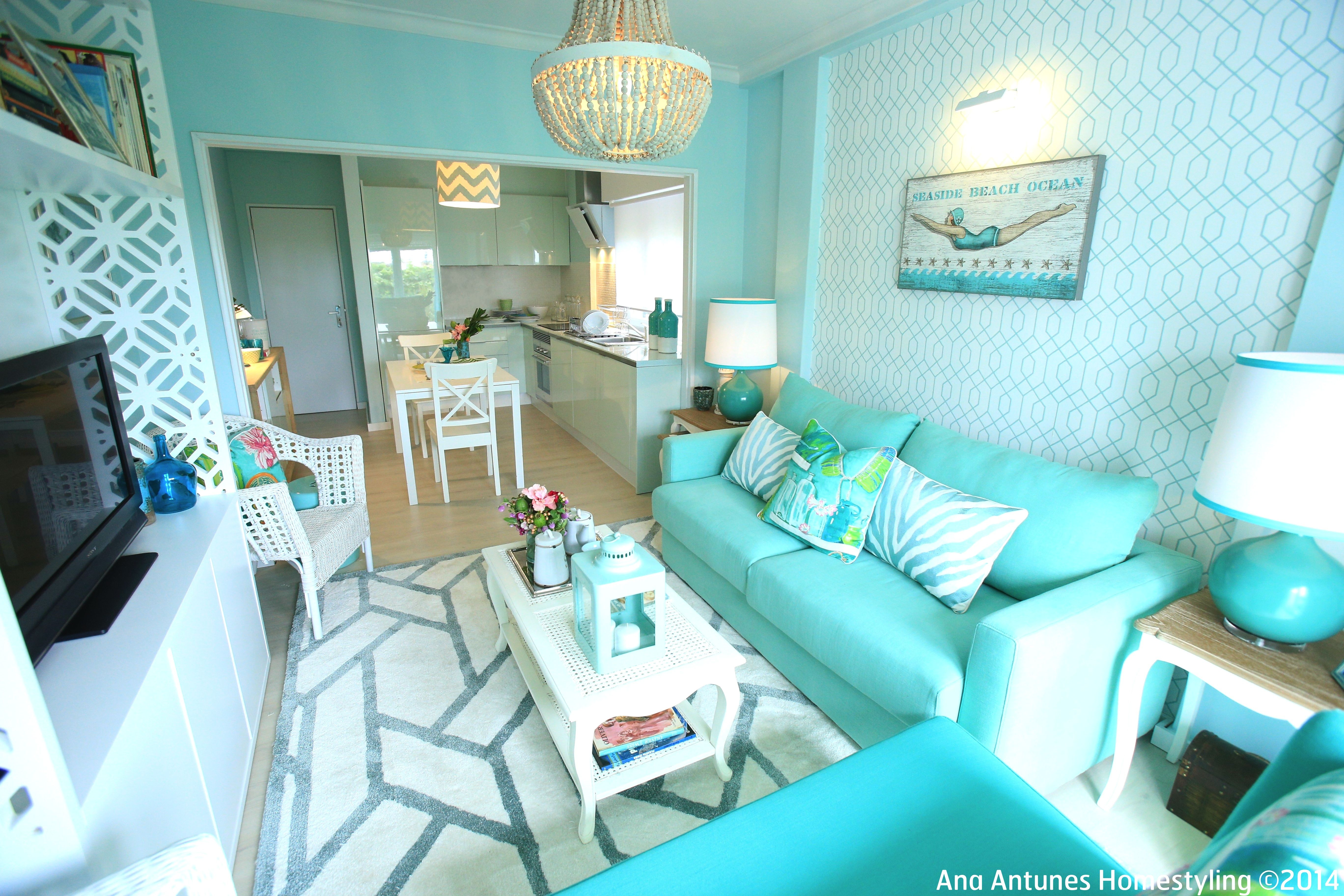 coastal inspired, beach house, seaside inspired, turquoise ...