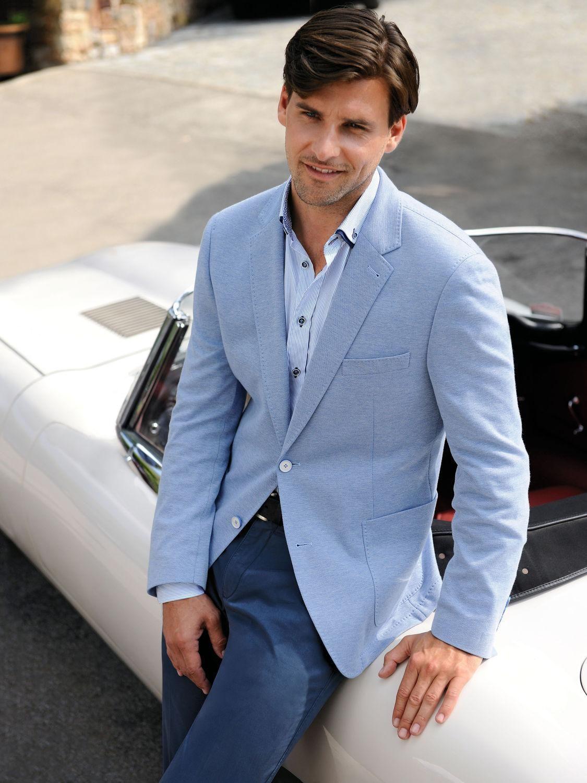 Summer Linen Men Suits Blue Mens Wedding Suits Tuxedos Notch Lapel ...