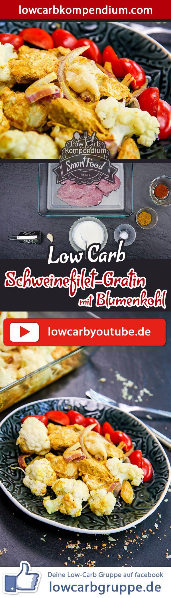 Photo of Schweinefilet-Gratin mit Blumenkohl ? Low-Carb Auflauf simpel & lecker