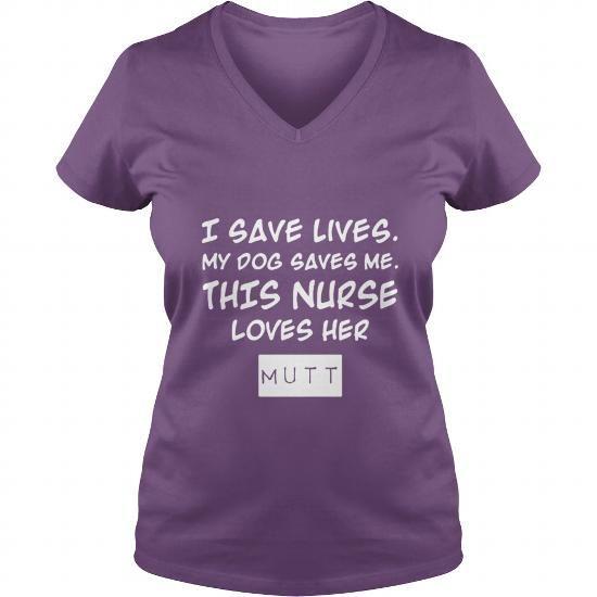 Nurse Loves Mutt Shirt TShirt V-Necks T-Shirts, Hoodies ==►► Click Shopping NOW!