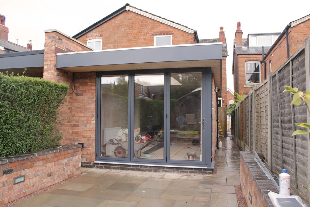 BIRMINGHAM Contemporary single storey rear extension — MAINWOOD architects