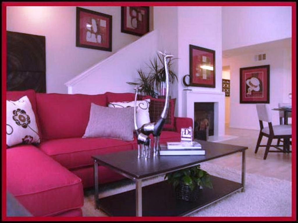 Here are five tips for choosing lighting for your living room. How To Decorate A Living Room With A Red Couch   Home ...