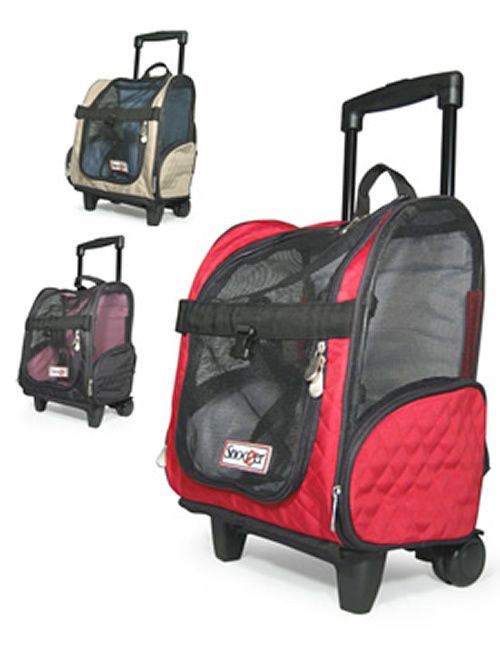 51a2f16a07a6 Pet carrier with wheels for pet travel. Easy through airports with your pet  and airline compliant in small and medium sizes