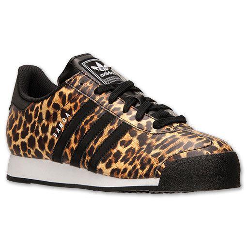 Adidas Skor Barn Leopard