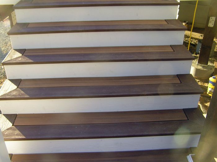 Image Result For Trex Stair Treads Trex Stairs Exterior Stairs | Composite Exterior Stair Treads | Blocking | Indoor | Deck Trex | Picture Framing | Patio