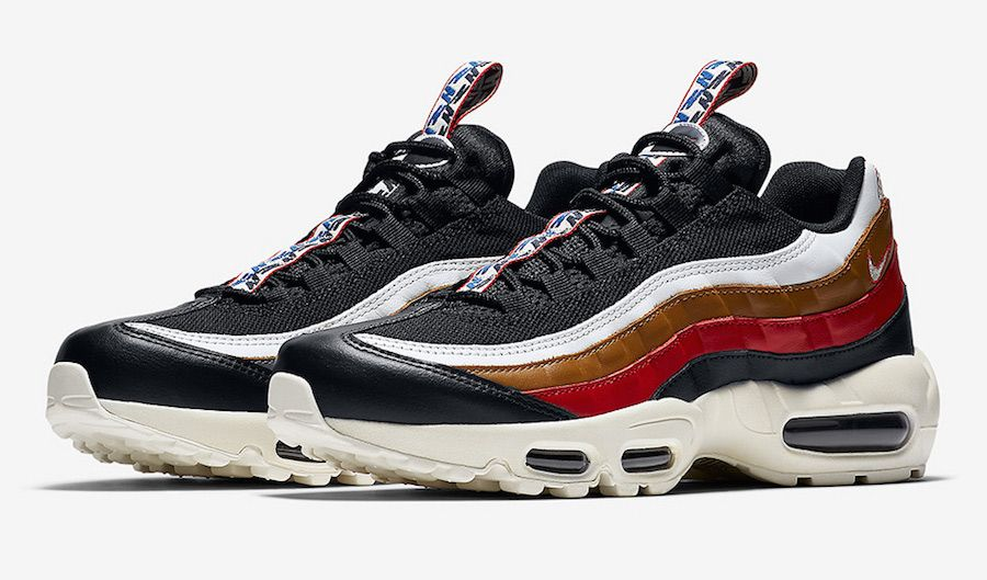 Nike Air Max 95 Pull Tab Red Brown Arriving This Weekend