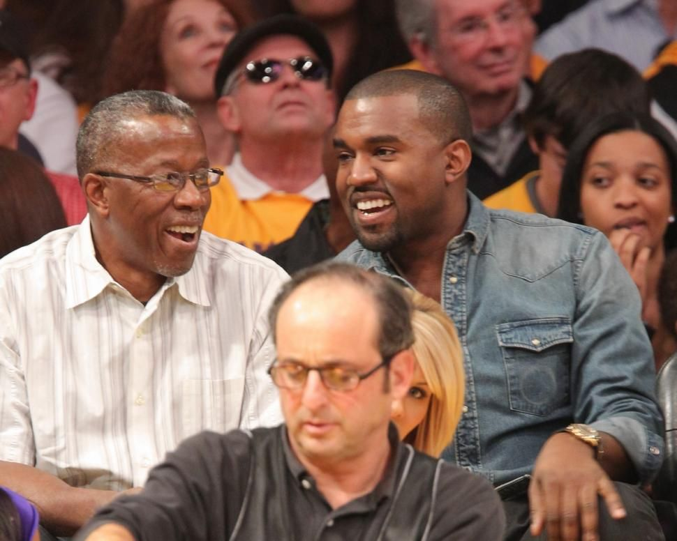 Kanye West Claims Dad Was A Paparazzo In Civil Suit Deposition News Treasure Kanye West R And Father Ray West At Kanye West Black Fathers Photojournalist