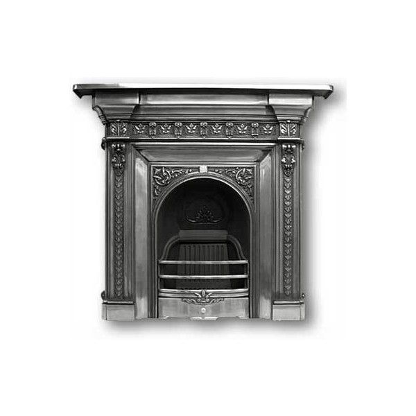 Melrose Cast Iron Fireplace From Victorian Fireplace Suppliers UK  ... ❤  Liked On. Victorian FireplaceVictorian Home DecorCast ...