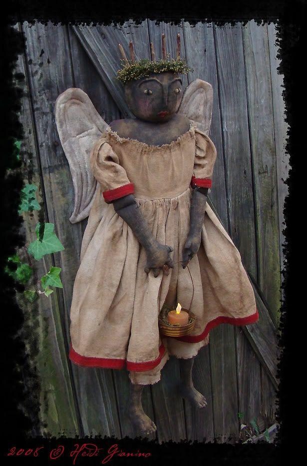 primitive black angel