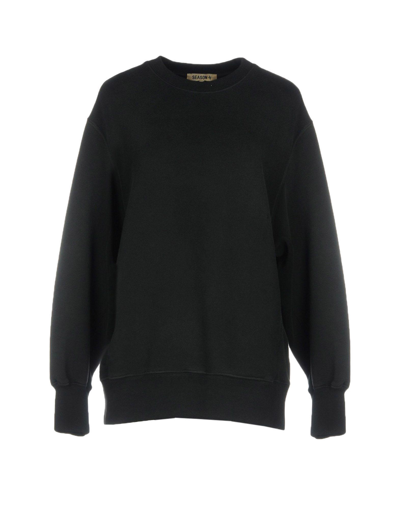 Yeezy Sweatshirt In Black Modesens Sweatshirts Yeezy Black Sweatshirts [ 2000 x 1571 Pixel ]