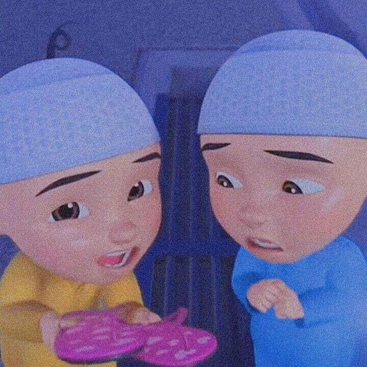 upin ipin gambar karakter disney komik anak ilustrasi