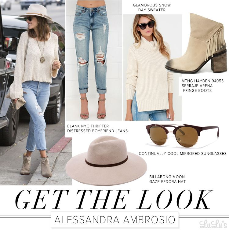 Get the Look: Alessandra Ambrosio at LuLus.com!