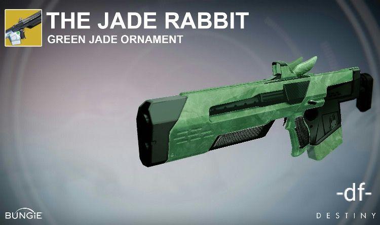 Jade Rabbit jade exotic ornament   Destiny   Destiny game