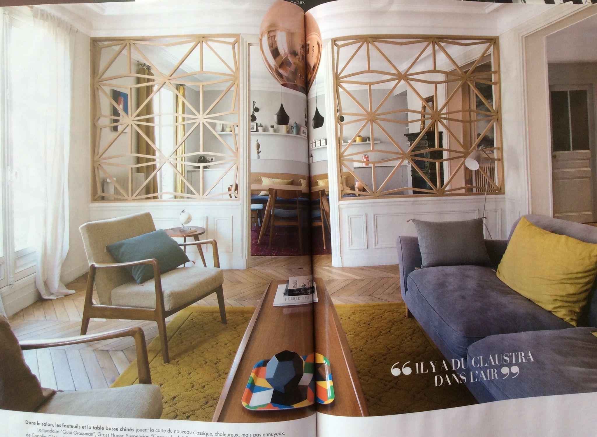 Marie Claire Maison   Claustra Design Inspirations
