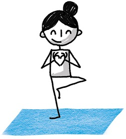 yoganotes  draw your yoga flows with simple stick