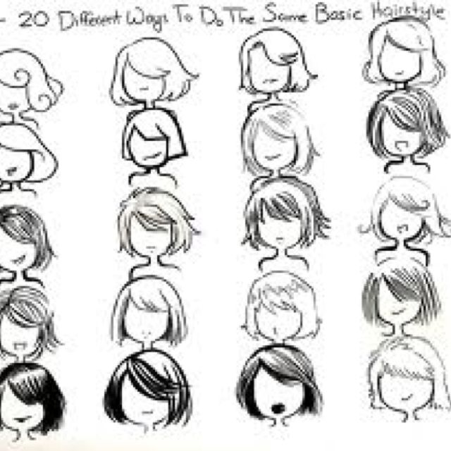 hair and face drawing school