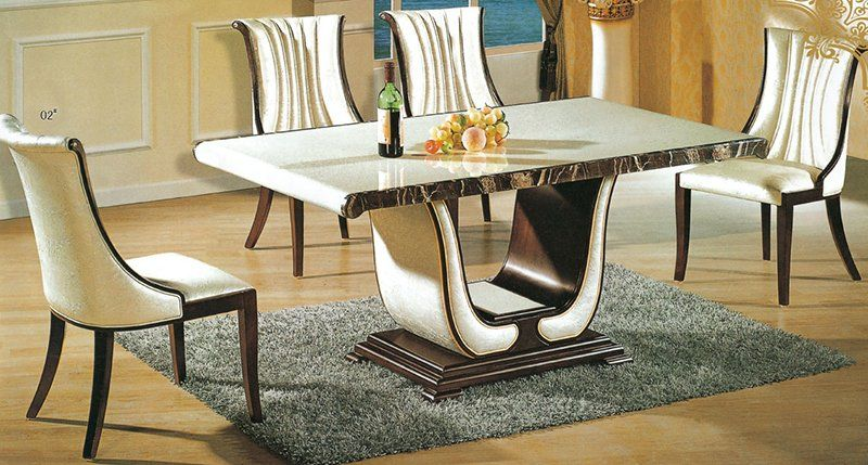 20 Luxurious Rectangular Marble Dining Tables Dining Table